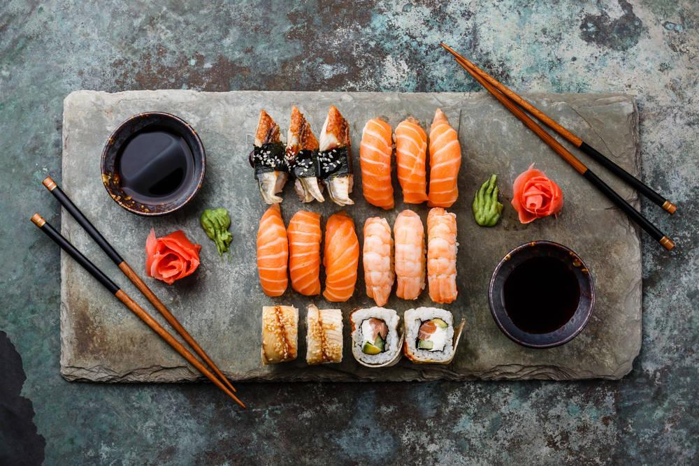 Pequeña historia del sushi
