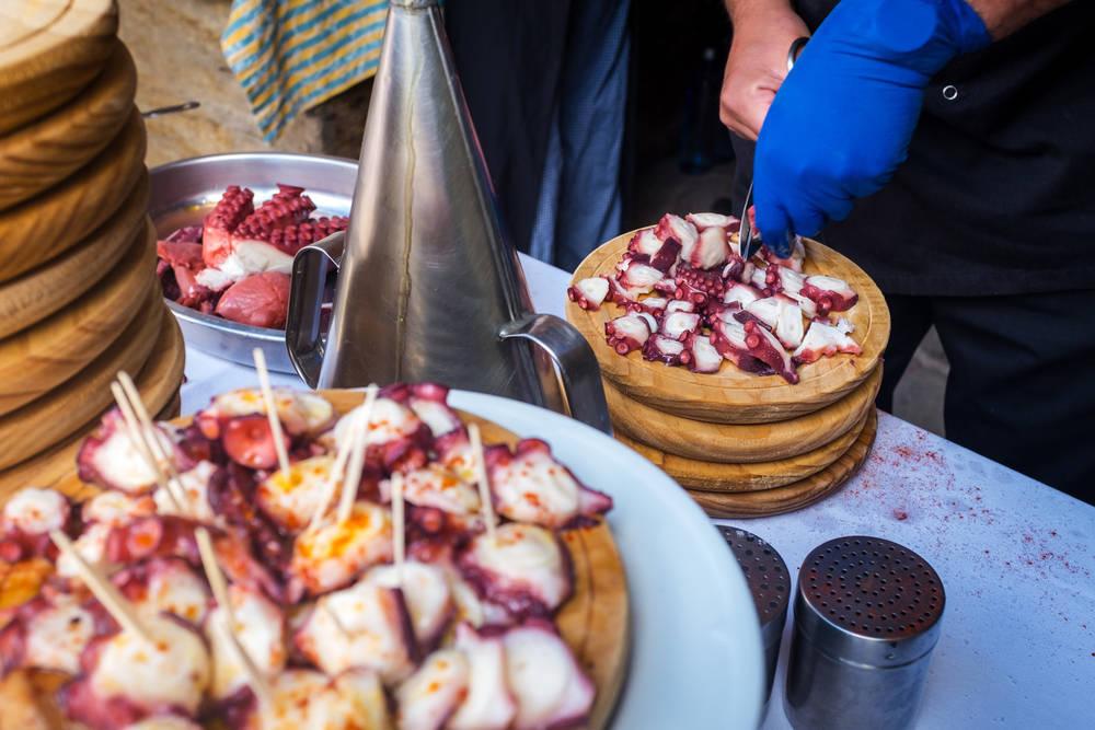 Ruta gastronómica por Galicia